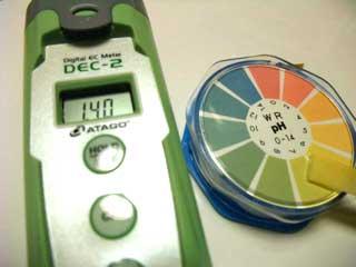 ハイポニカ500倍 EC1.4 pH6.5